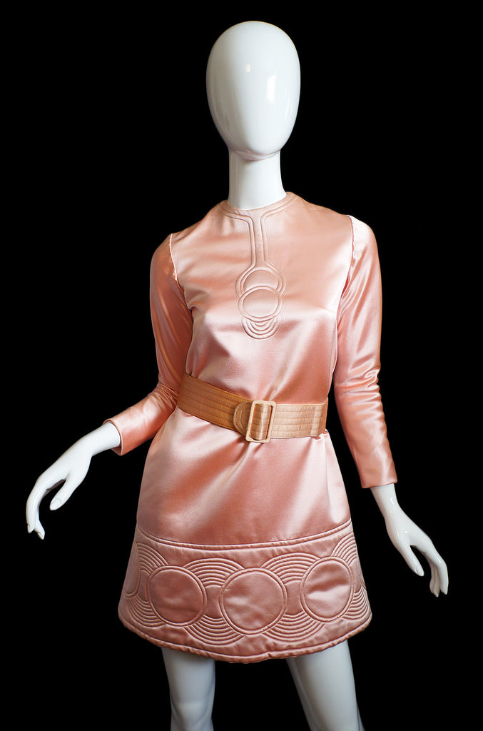 1968 Pierre Cardin Padded Circle Mini