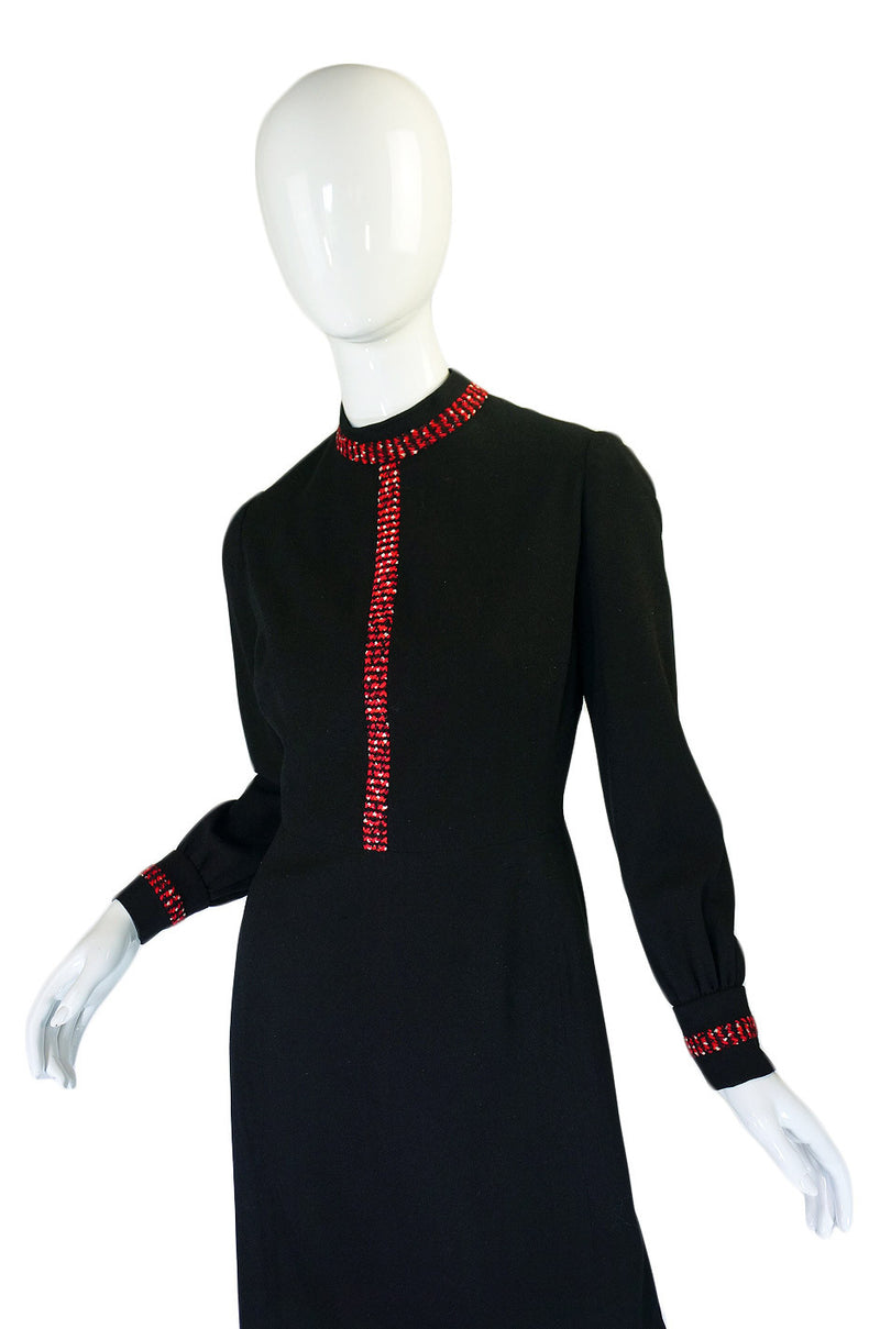 1960s Numbered Couture Balmain Dress