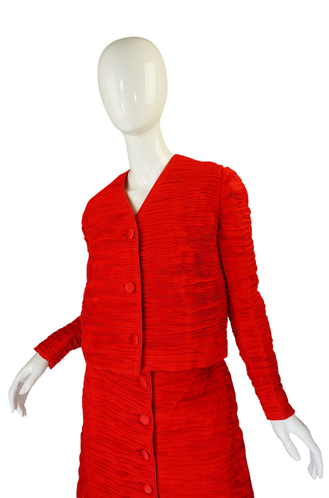 1960s Pleated Linen Sybil Connolly Suit