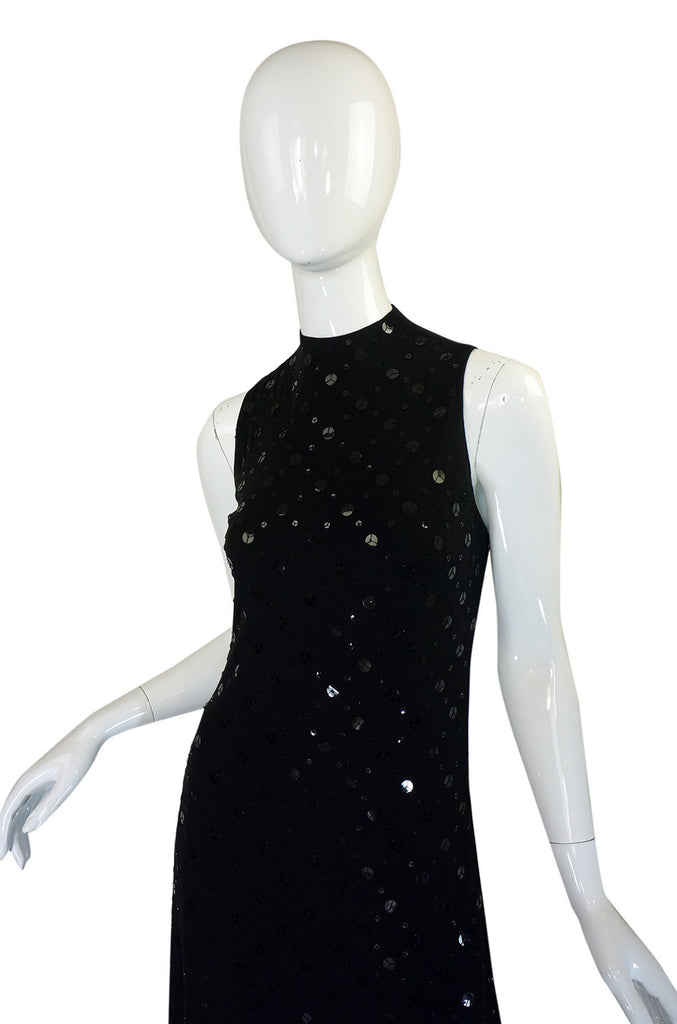 2005 Alexander McQueen Sequin Dress
