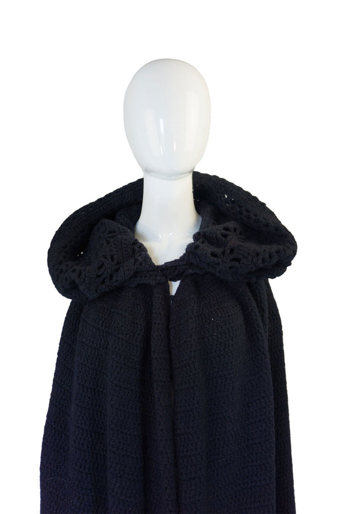 Rare 1960s Sybil Connolly Crochet Cape
