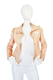 Rare Original 1960s Nude Color Courreges Jacket