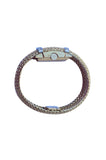 1950s Cartier Lady's Gold & Diamond Bracelet Watch