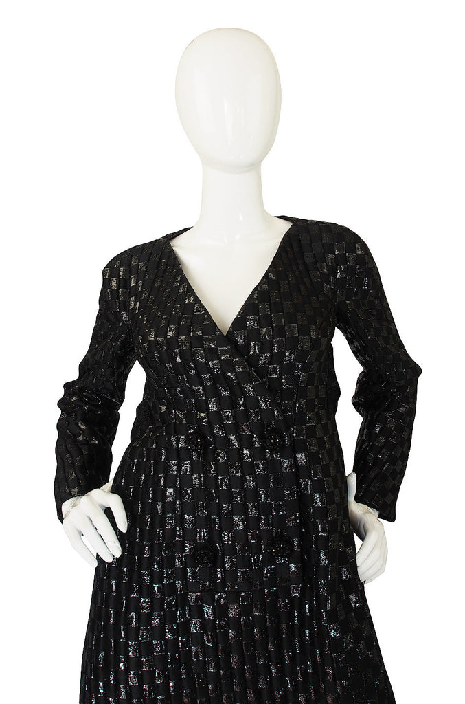 1960s Sculptural James Galanos Dress