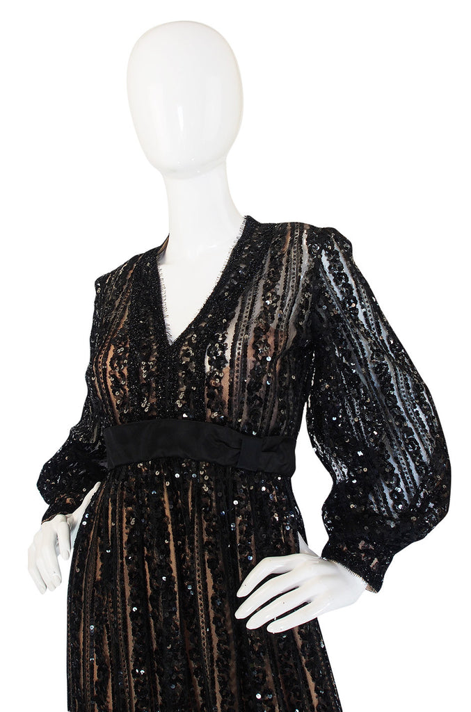 Exceptional 1960s Sequin Donald Brooks Dress