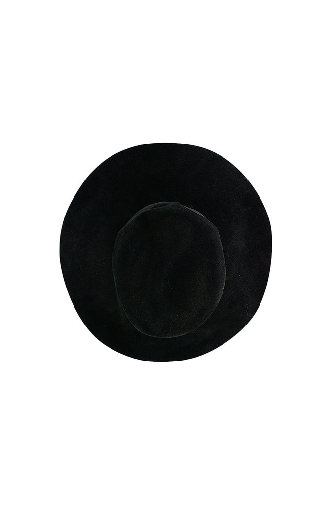 Iconic 1970s Yves Saint Laurent Wide Brim Hat