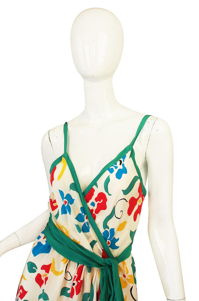 1979 Oscar De La Renta Dress as Seen in Vogue