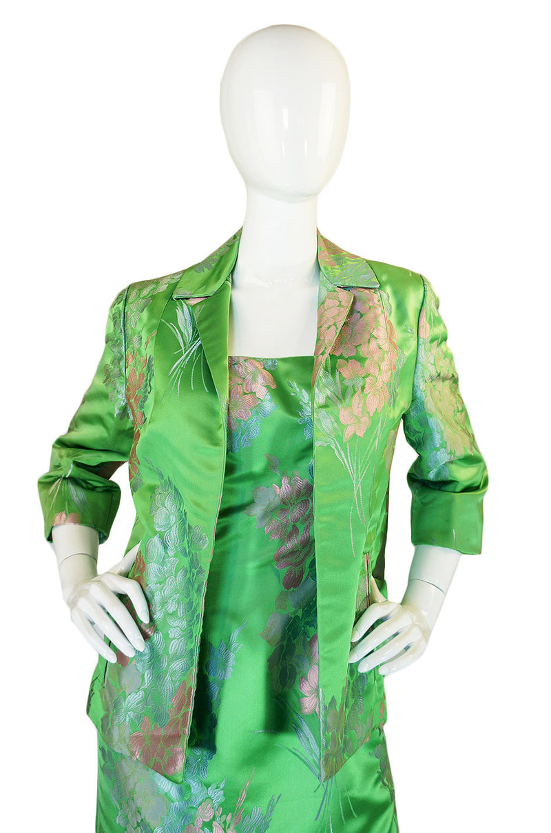1960s Mr Blackwell Custom Silk Set