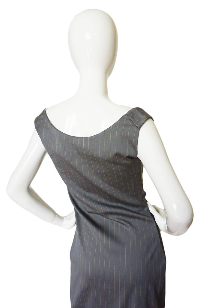1990s Vivienne Westwood Pinstripe Dress