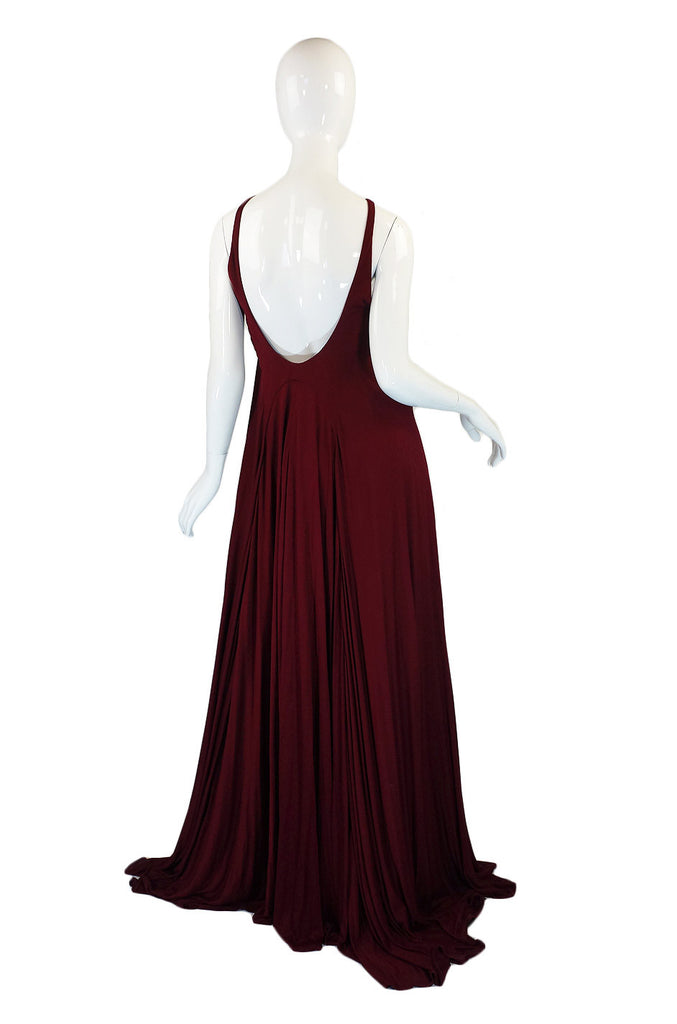 Recent Doo Ri Jersey Gown & Shrug NWT
