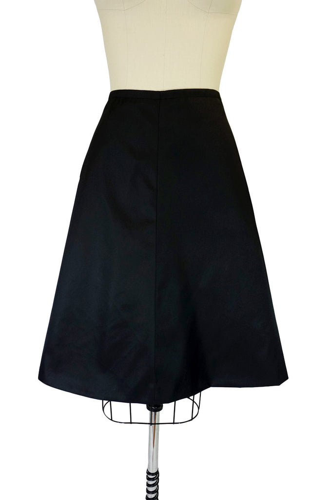Recent Prada Techno Fibre A-Line Skirt