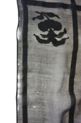 1810-1820 Antique Silk Guaze Shawl