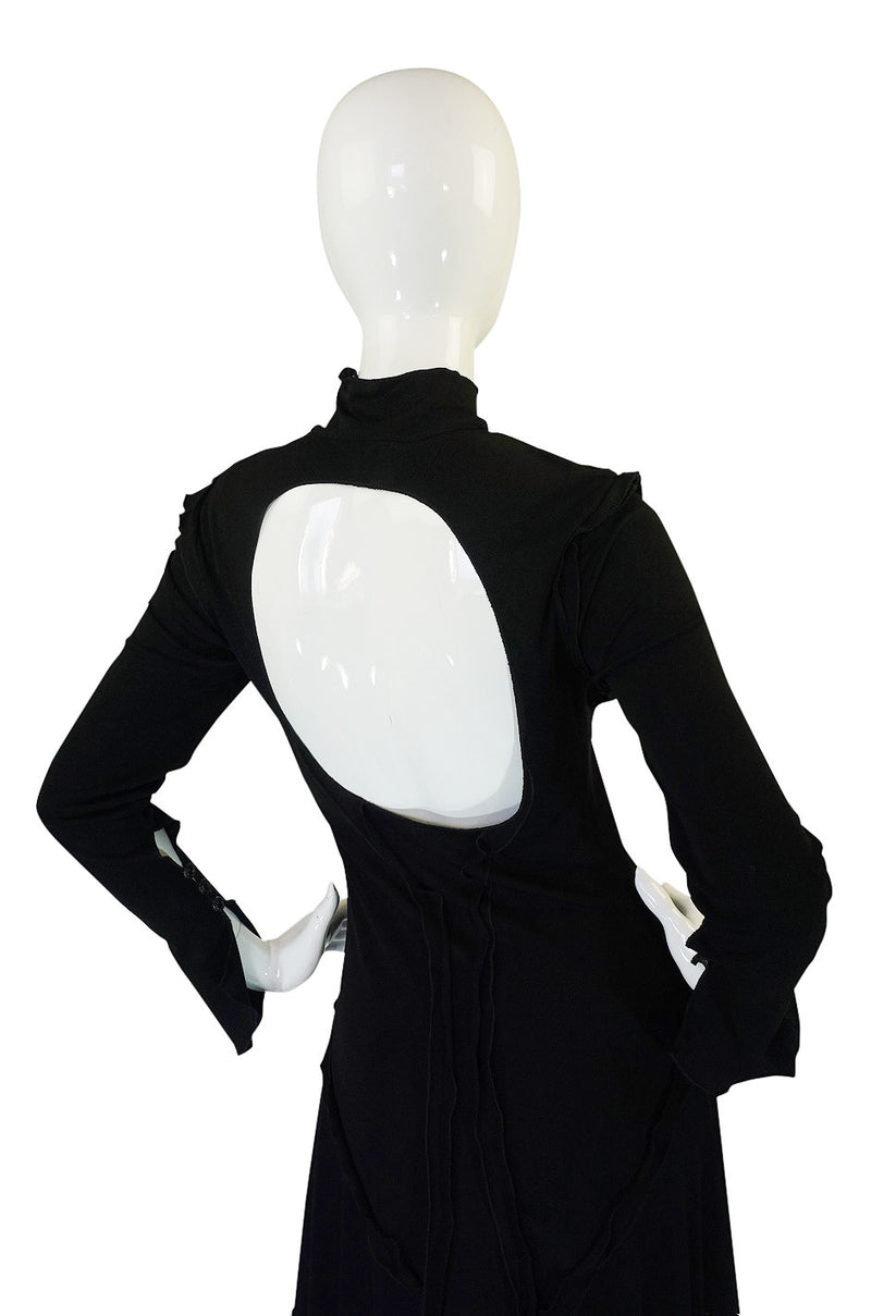 1990s Gianni Versace Backless Dress