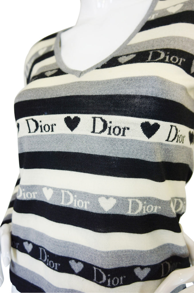 Recent Dior Silk & Cashmere Sweater