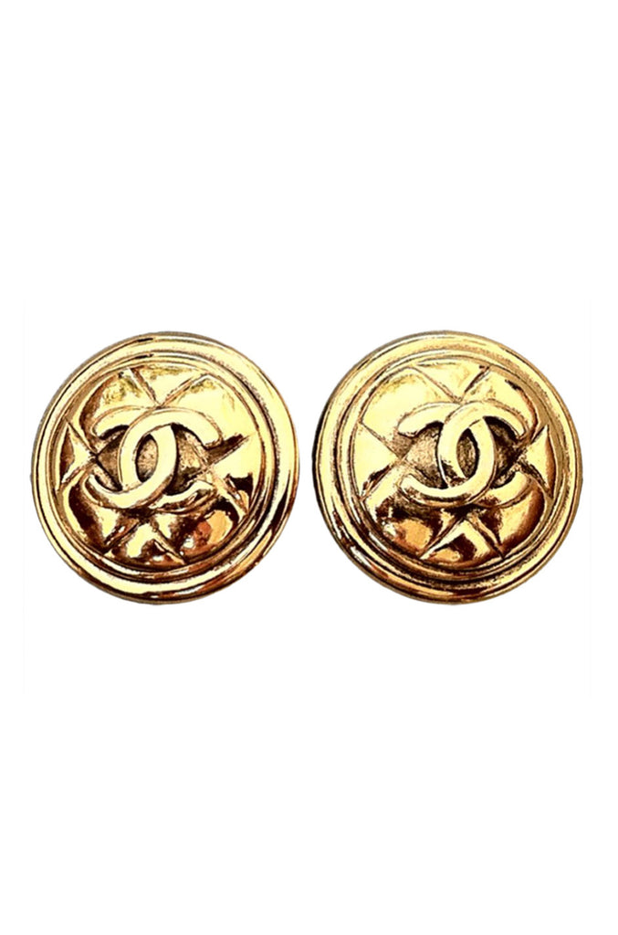 Fine CHANEL 1980s Earrings