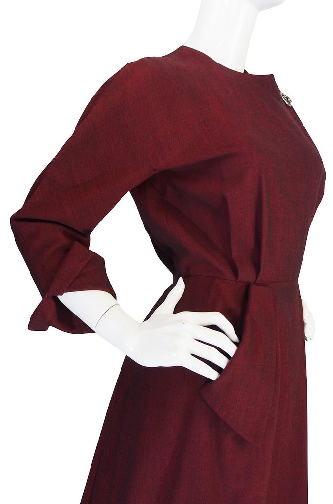 Stunning 1950s Christian Dior New York Dinner Dress