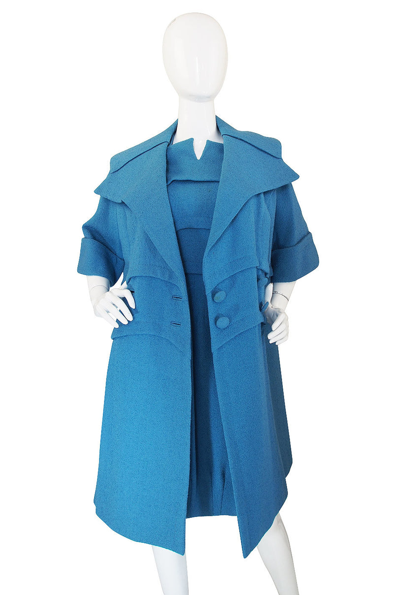 1950s Cornelia Couturier Avant Garde Dress & Coat