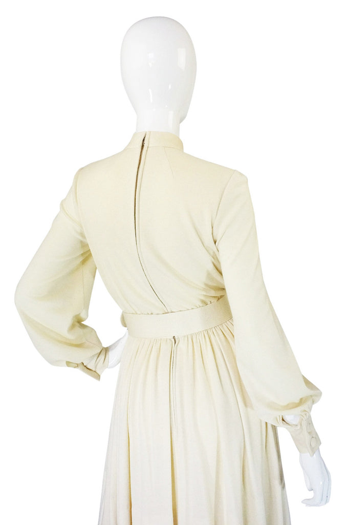 1960s Couture Norell Soft Knit Dress