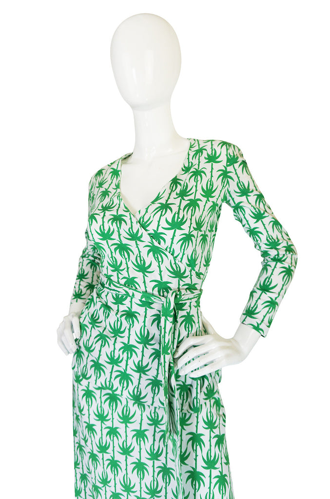 Rare 1970s Diane Von Furstenberg Palm Tree Set
