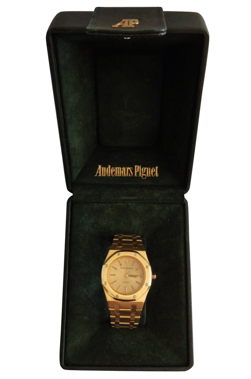 1970s Audemars Piguet Yellow Gold Royal Oak Wristwatch