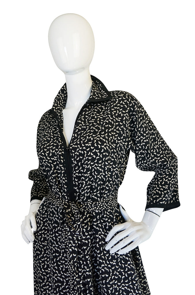 1978 Yves Saint Laurent Haute Couture Tunic & Pant Set