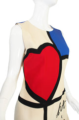 "1990s ""Art is Love"" Moschino Cheap & Chic Dress"