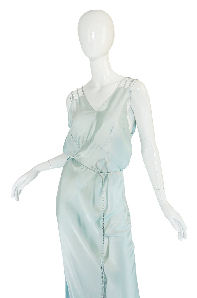 1930s Dolene Undies Bias Cut Lingerie Dress
