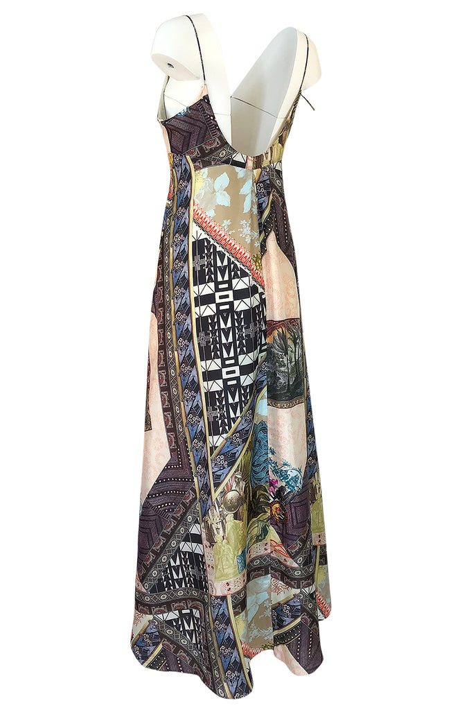 S/S 2006 Christian Lacroix RTW Runway Look 61 Silk Halter Dress