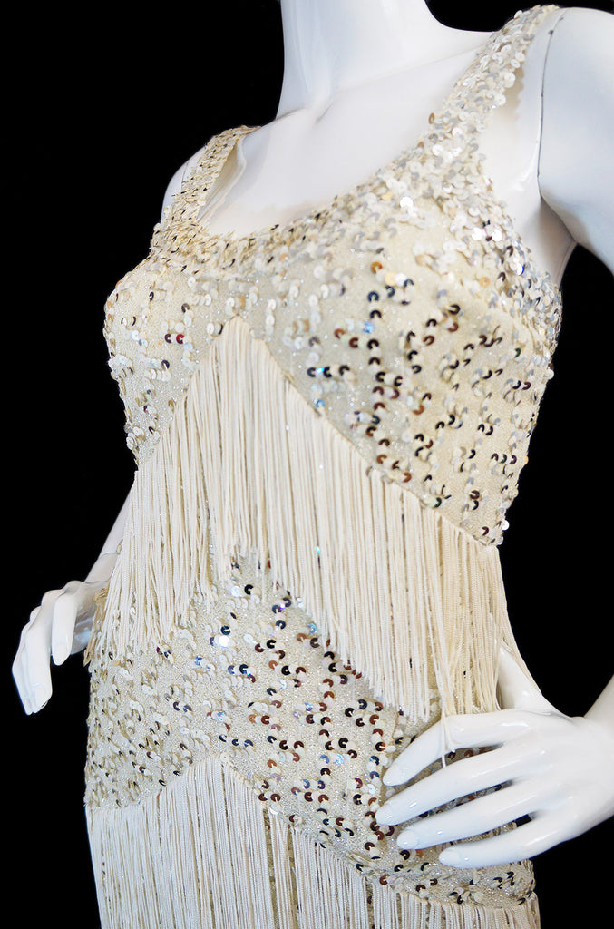 1960s Sequin & Fringe Lilli Diamond