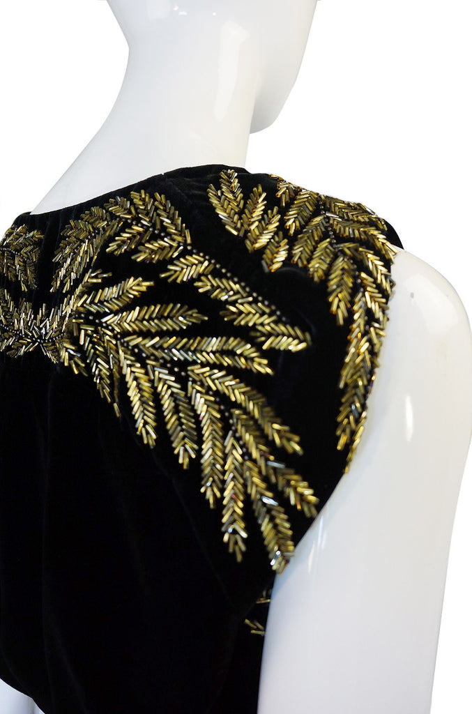 F2006 Beaded Alexander McQueen Dress