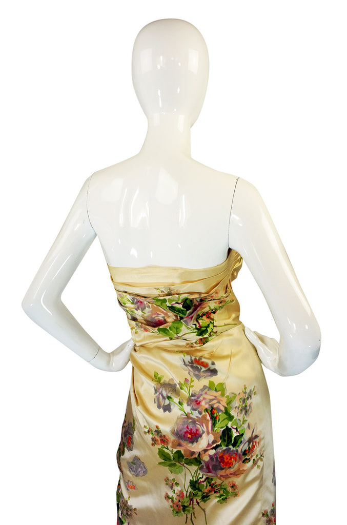 1950s Rare Philip Hulitar Silk Dress
