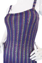 Spring 1980 Striped Missoni Knit Dress