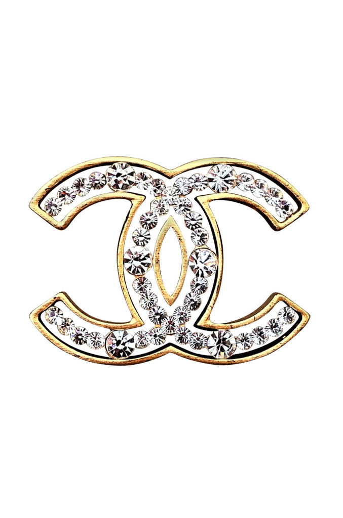 Swarovski Crystal CHANEL Brooch 2002
