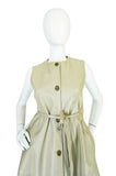 1960s Rare Bonnie Cashin Chic Leather Dress or Vest