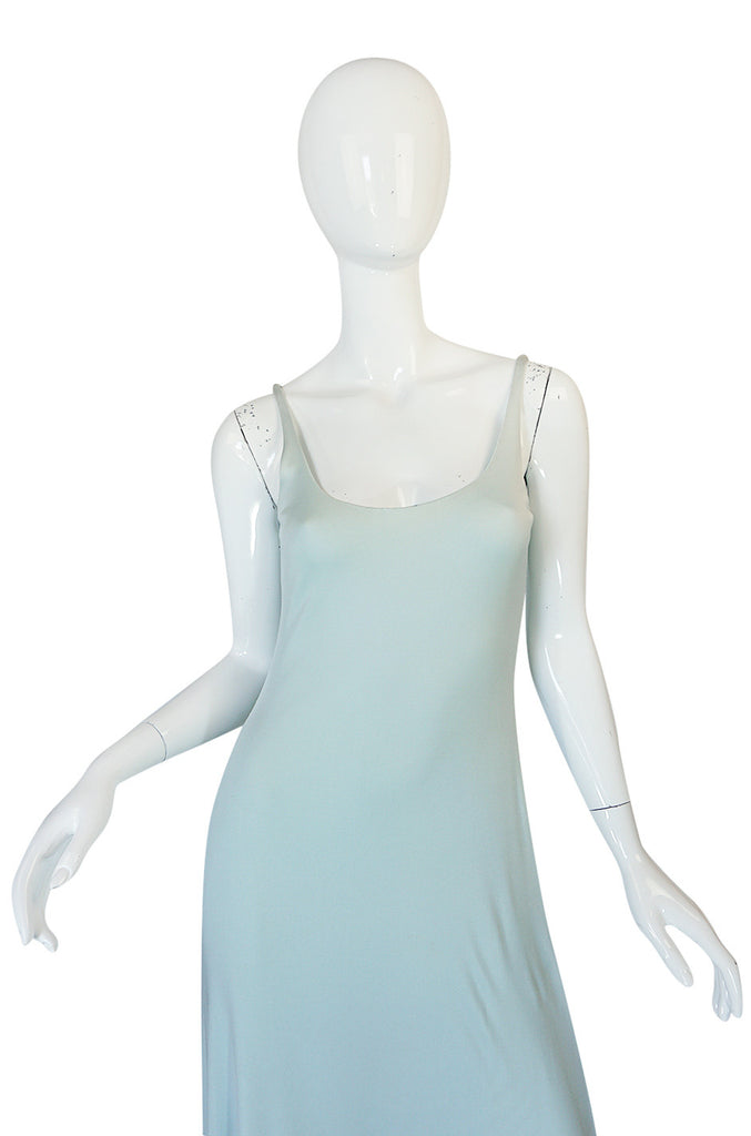 Treasure Item - c1971 Baby Blue Halston Dress & Jacket