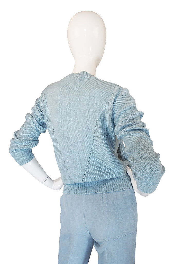 1978 Courreges Pant and Sweater Set
