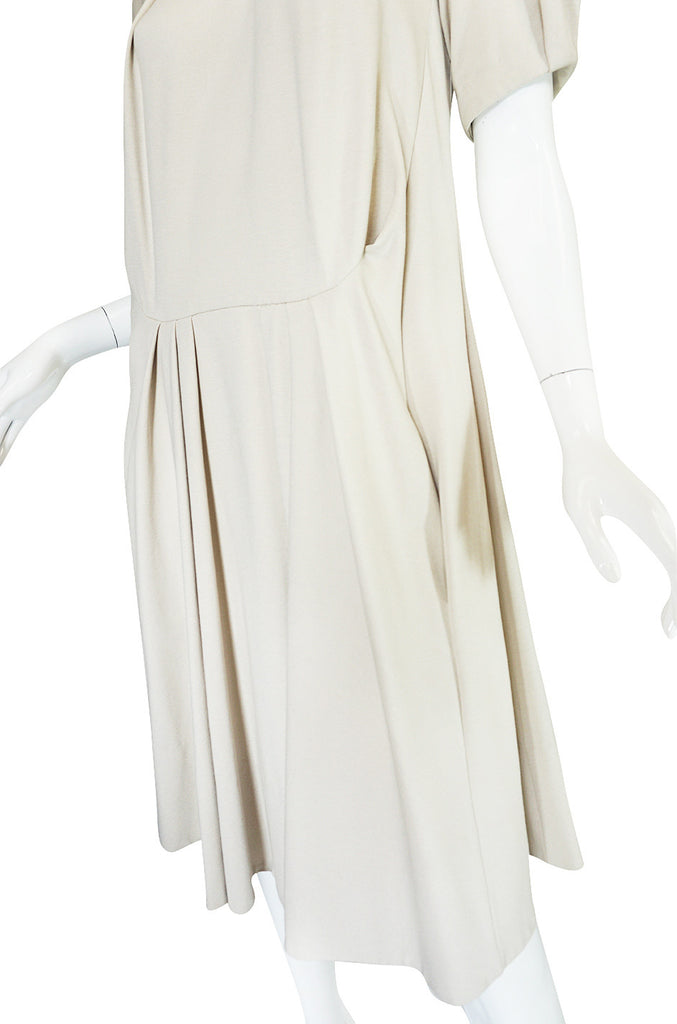 Early 2000s Off White Jersey Marni Dress