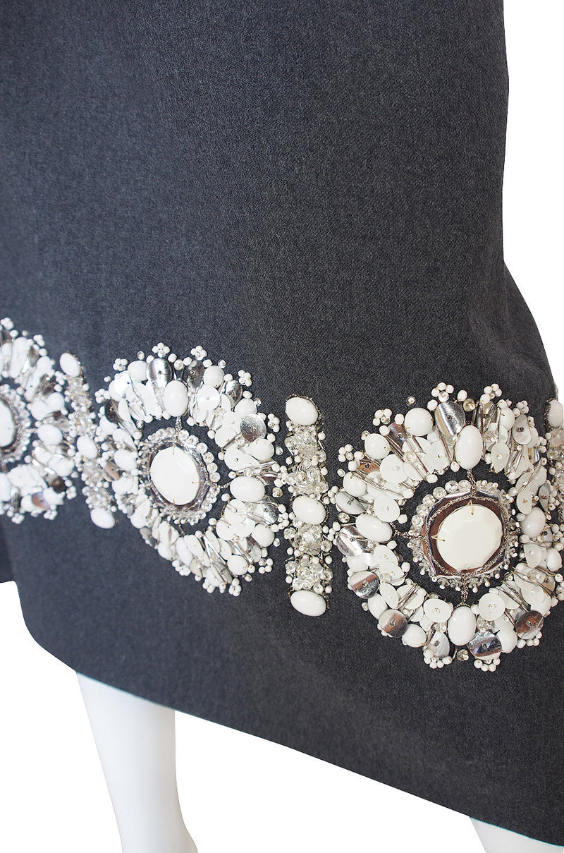1970 Embellished J.G. Couture Vest & Skirt