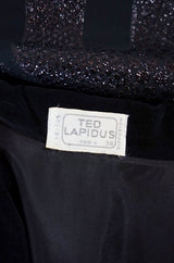 1970s Numbered Ted Lapidus Dress