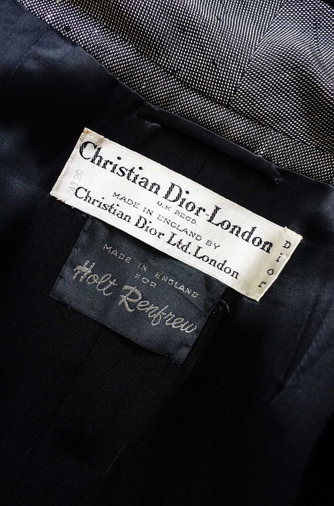 1950s Numbered Christian Dior Jacket