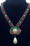 LOUIS ROUSSELET Pendant Necklace ca.1940