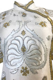 1975 Jean Louis Scherrer Haute Couture Lesage Embroidered Top or Jacket