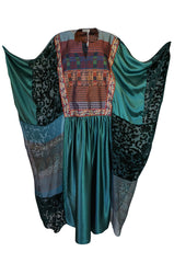 Museum Exhibited c.1975 Thea Porter Iconic Abaya Caftan Dress