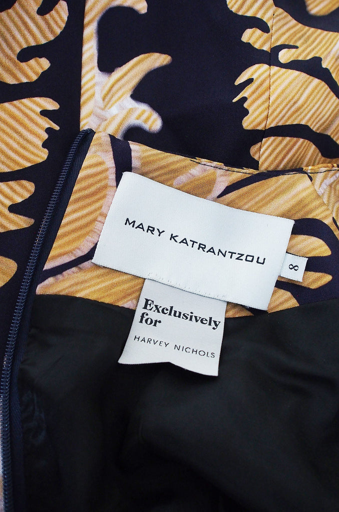 Recent Mary Katrantzou Silk Print Dress