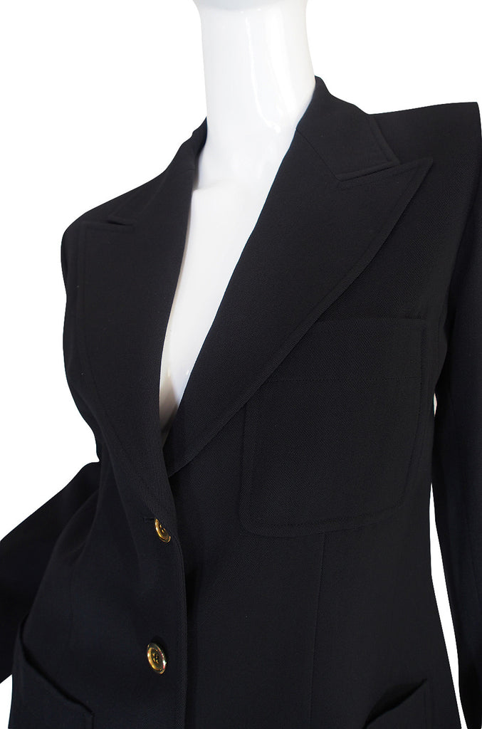 Rare Late 1960s Custom Yves Saint Laurent Suit