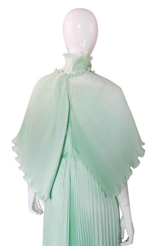 1970s Zandra Rhodes Signature Pleat Set