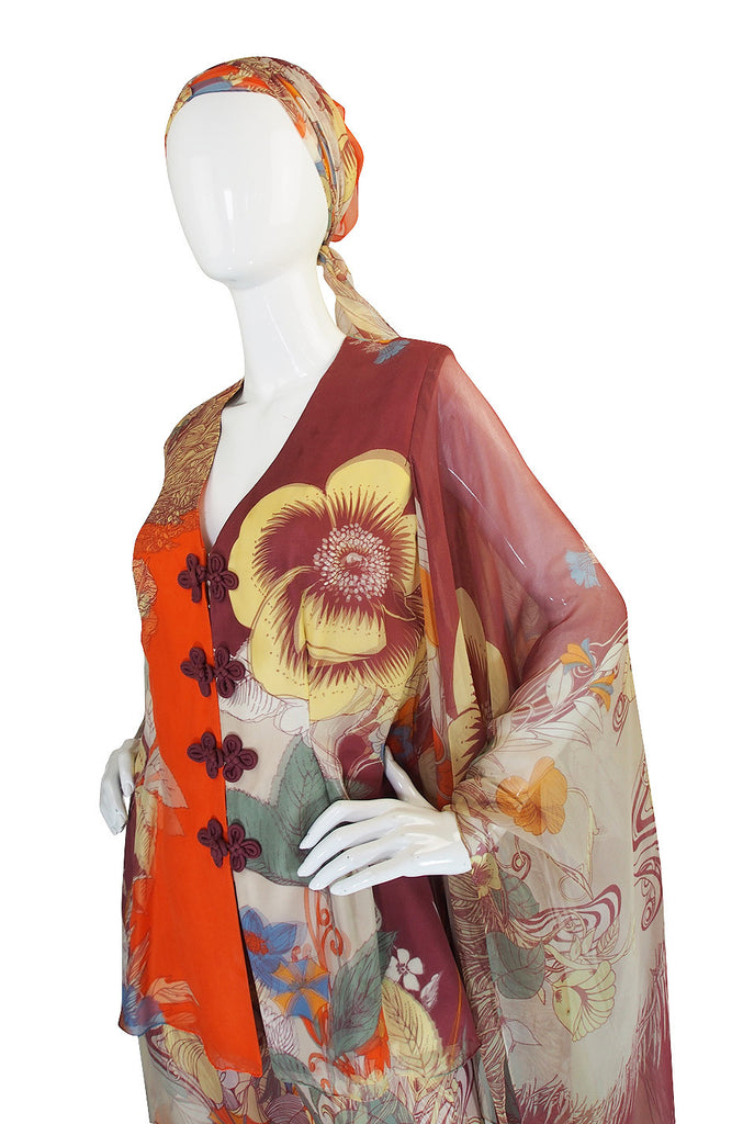 1966-69 Couture Hanae Mori Set As Seen at The Met