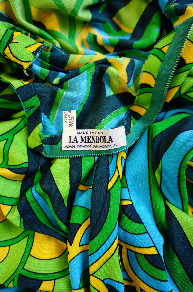 1972 Important La Mendola Custom Dress