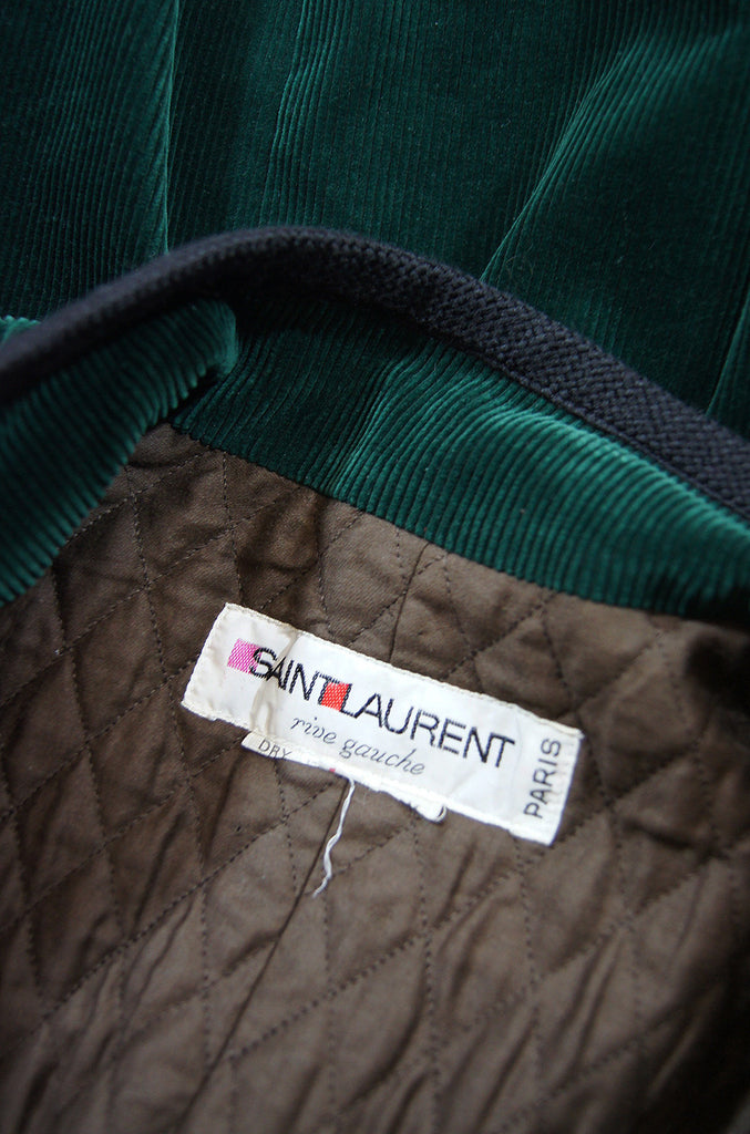 Rare 1976-77 YSL Russian Collection Coat