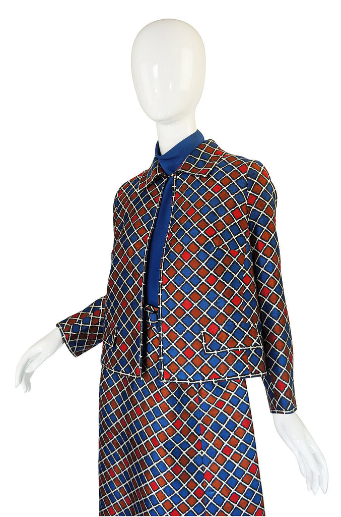1960s Numbered Couture Balmain Suit